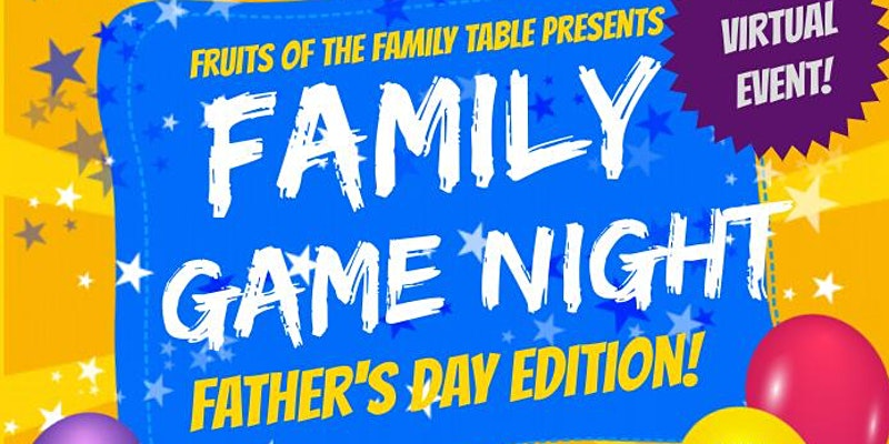 Father's Day Family Game Night